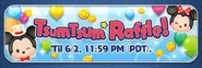 May 2021 Tsum Tsum Raffle! Banner