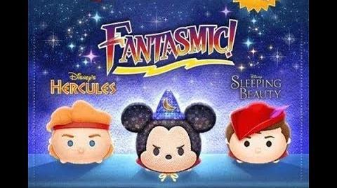 Disney Tsum Tsum - Fantasmic Mickey
