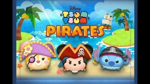 Disney Tsum Tsum - Pirate Clarice