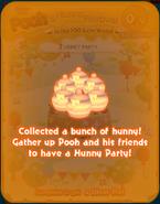 Pooh's Hunny Festival Card 7a