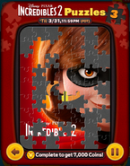 Incredibles 2 Puzzles Card 3a