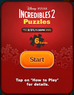 Incredibles 2 Puzzles Start