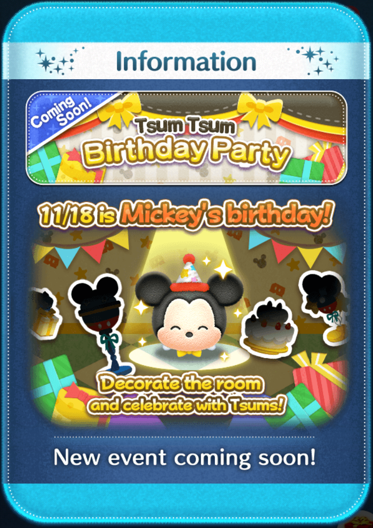 """8 Tsum Personalized Birthday Party Stickers Favors Labels Tags 3.5/"""" tsum"""