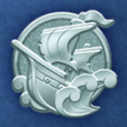 DisneyTsumTsum Pins International Pirates Silver