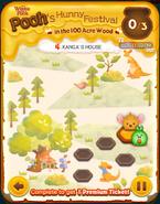 Pooh's Hunny Festival Card 4a