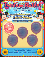 May 2021 Tsum Tsum Raffle! Today's Missions