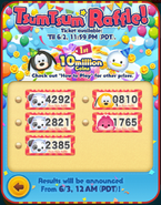 May 2021 Tsum Tsum Raffle! 5 Tickets Collected
