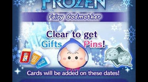 Disney Tsum Tsum - Fairy Godmother (Frozen Event - Card 8 - 8)