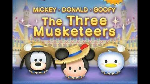 Disney Tsum Tsum - Musketeers Mickey