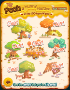 Pooh's Hunny Festival All Cleared