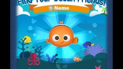 Disney Tsum Tsum - Nemo (Find Your Ocean Friends Event - Mission 60)