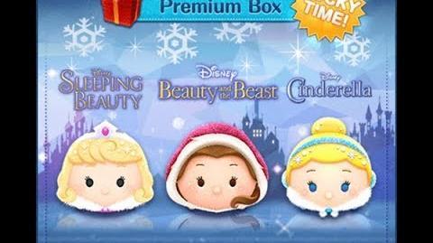 Disney Tsum Tsum - Winter Cinderella