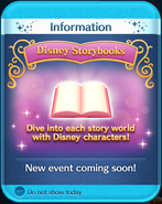 Disney Storybooks event coming soon