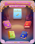 Disney Storybooks event all books cleared
