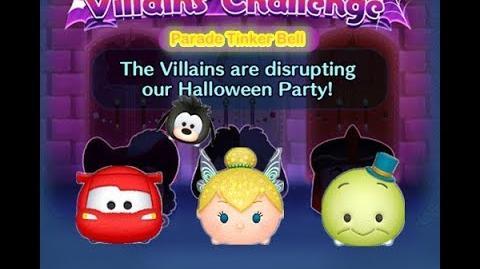 Disney Tsum Tsum - Parade Tinker Bell (Disney Villains' Challenge - Jafar Map 14)