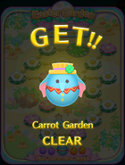 Easter Garden Carrot Garden CLEAR
