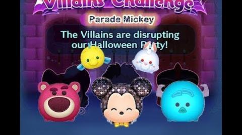 Disney Tsum Tsum - Parade Mickey (Disney Villains' Challenge - Cruella Map 2)