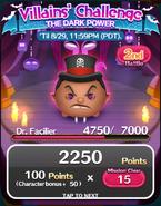 Villains' Challenge 2019 Door2 2nd Battle 1