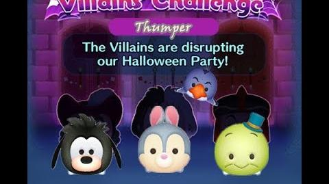 Disney Tsum Tsum - Thumper (Disney Villains' Challenge - Captain Hook Map 5)