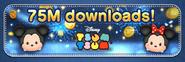 75M downloads! banner