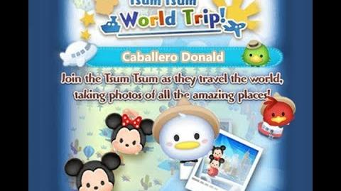 Disney Tsum Tsum - Caballero Donald (Tsum Tsum World Trip - 2nd Trip 9 - 3)