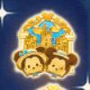DisneyTsumTsum Pins Theme Park Gold