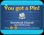 Disney Storybooks event Cleared pin GET!