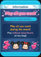 Play-all-you-want! Jul21