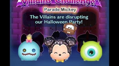 Disney Tsum Tsum - Parade Mickey (Disney Villains' Challenge - Jafar Map 6)