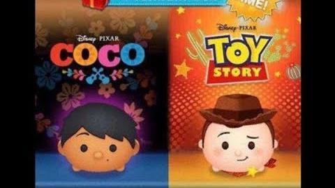 Disney Tsum Tsum - Sheriff Woody