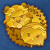 DisneyTsumTsum Pins BeautyAndTheBeastScoreChallenge Gold.png