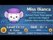 Disney Tsum Tsum Bianca gameplay skill 6
