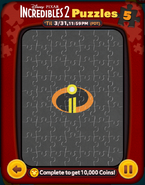 Incredibles 2 Puzzles Card 5