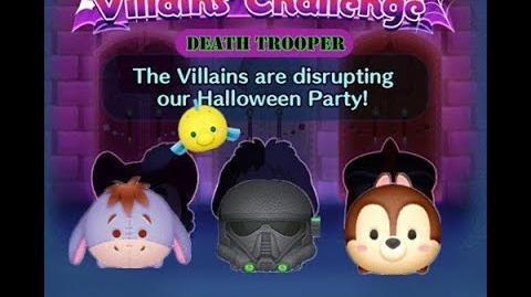 Disney Tsum Tsum - Death Trooper (Disney Villains' Challenge - Cruella Map 16)