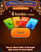 Disney Storybooks CS Start