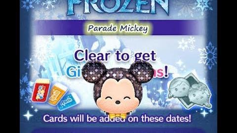 Disney Tsum Tsum - Parade Mickey (Frozen Event - Card 7 - 15)