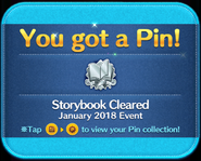 Storybook Cleared Pin GET!