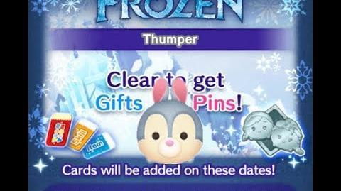 Disney Tsum Tsum - Thumper (Frozen Event - Card 8 - 6)