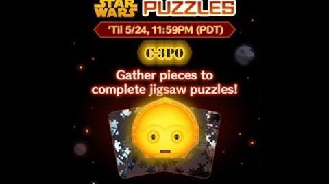 Disney Tsum Tsum - C-3PO (Star Wars Puzzles Event)