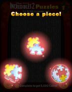 Incredibles 2 Puzzles Choose