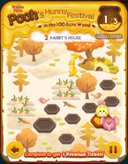 Pooh's Hunny Festival Card 2b