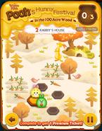 Pooh's Hunny Festival Card 2a