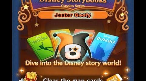 Disney Tsum Tsum - Jester Goofy (Disney Story Books - Pinocchio 15)