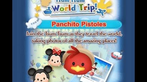 Disney Tsum Tsum - Panchito Pistoles (Tsum Tsum World Trip - 1st Trip 1 - 3)