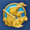 DisneyTsumTsum Pins International Pirates Gold.png
