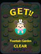 Easter Garden Fountain Garden CLEAR