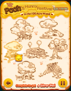 Pooh's Hunny Festival All cards