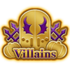 DisneyTsumTsum Pins Japan VillainsOctober2016 Gold.png