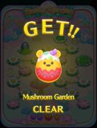 Easter Garden Mushroom Garden CLEAR