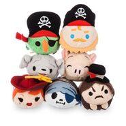 DisneyTsumTsum PlushSet Pirates Mini 2016